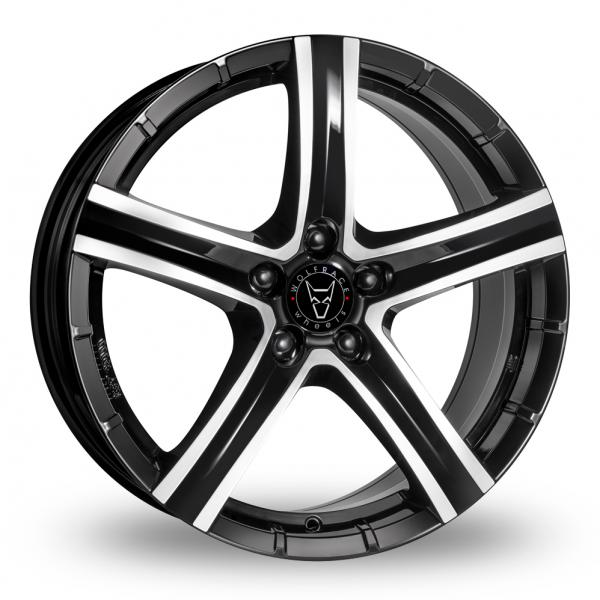 "Picture of 17"" Wolfrace Quinto Black"