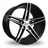 Calibre CC-S Matt Black Alloy Wheels