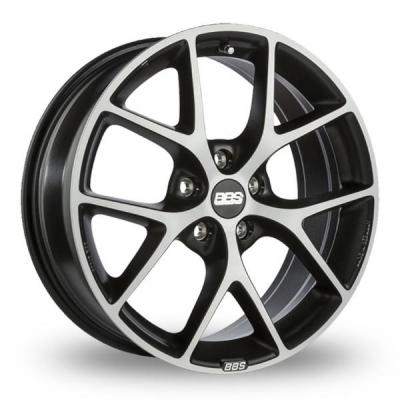 18 Inch BBS SR Grey Polished Alloy Wheels