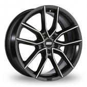 BBS XA Matt Black Alloy Wheels