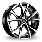 MSW (by OZ) Cross Over Matt Black Alloy Wheels