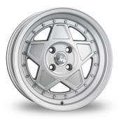 Junk Re'jekt Silver Alloy Wheels