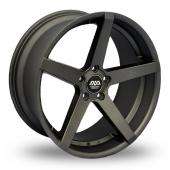 AVA Miami Gun Metal Alloy Wheels