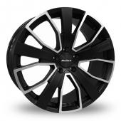 Calibre Kensington Matt Black Alloy Wheels