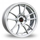 Borbet MC Silver Alloy Wheels
