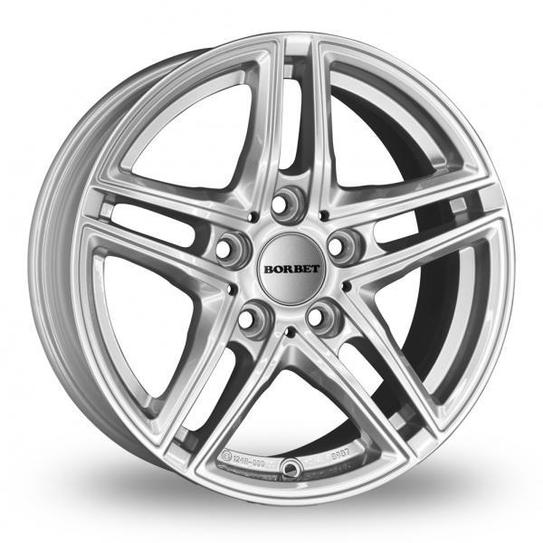 Borbet XR Silver