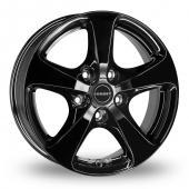 Borbet CC Black Alloy Wheels