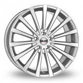 Borbet BLX Wider Rear Silver Alloy Wheels