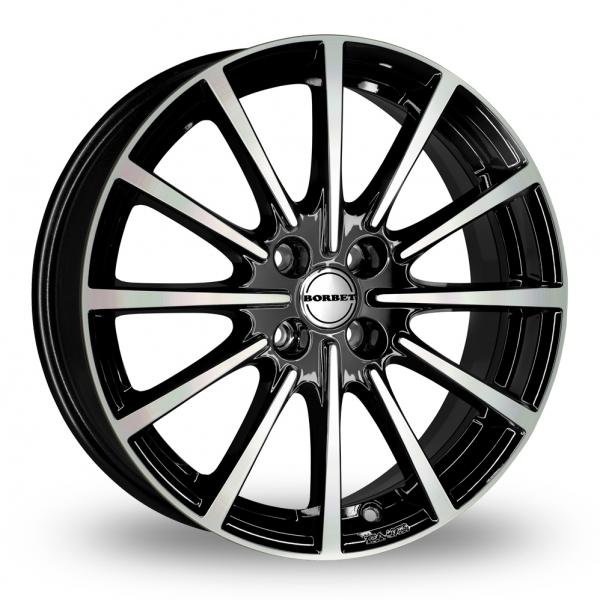 "Picture of 16"" Borbet BL4 Black Polished"