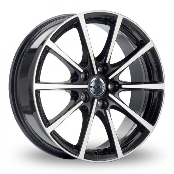 "Picture of 16"" Borbet BL5 Black Polished"