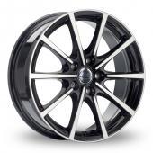 Borbet BL5 Black Polished Alloy Wheels