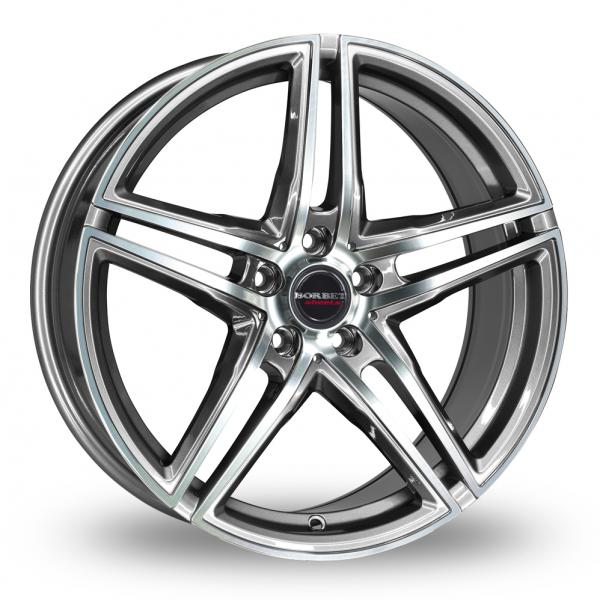 "Picture of 20"" Borbet XRT Graphite Wider Rear"