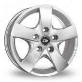 CW by Borbet CWF Silver Alloy Wheels