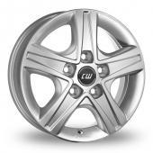 CW by Borbet CWD Silver Alloy Wheels