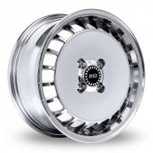 Ronal R10 Turbo Ball Polished Alloy Wheels