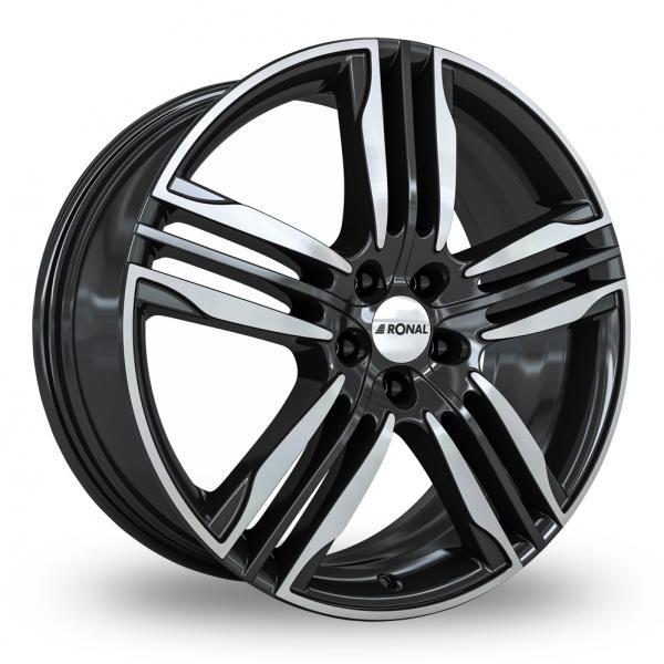 Ronal R58 Black Polished