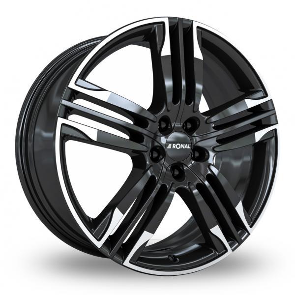 Ronal R58 Black White