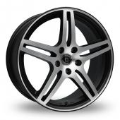 Diewe Chinque Black Polished Alloy Wheels