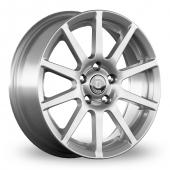 Diewe Allegrezza Silver Alloy Wheels