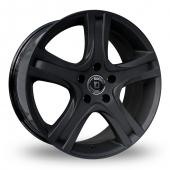 Diewe Amaro Matt Black Alloy Wheels