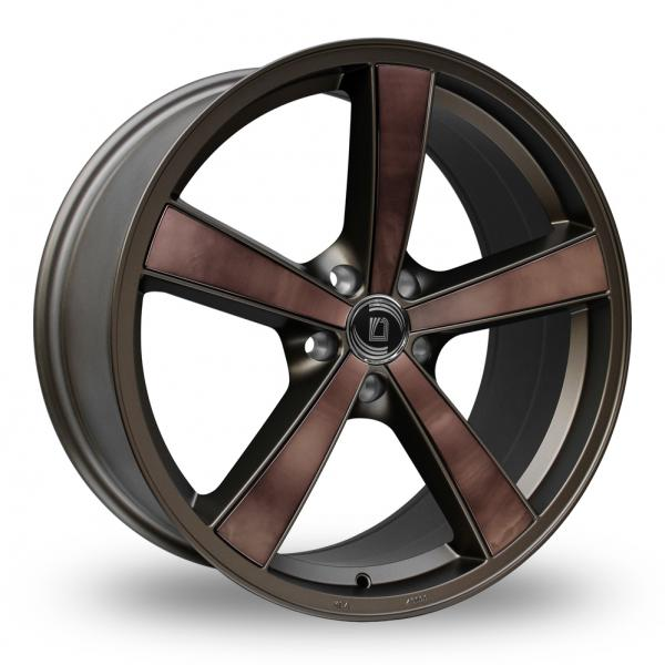 "Picture of 19"" Diewe Trina Inox Brown"