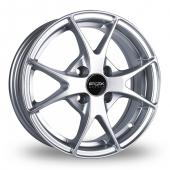 Fox Racing FX002 Hyper Silver Alloy Wheels