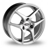 Team Dynamics Eagle Hi Power Silver Alloy Wheels