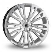 Hawke Halcyon Hyper Silver Alloy Wheels
