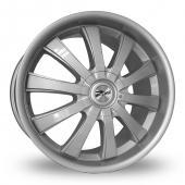 Zito Derosa Evo Silver Alloy Wheels