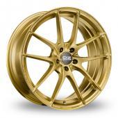OZ Racing Leggera HLT Gold Alloy Wheels