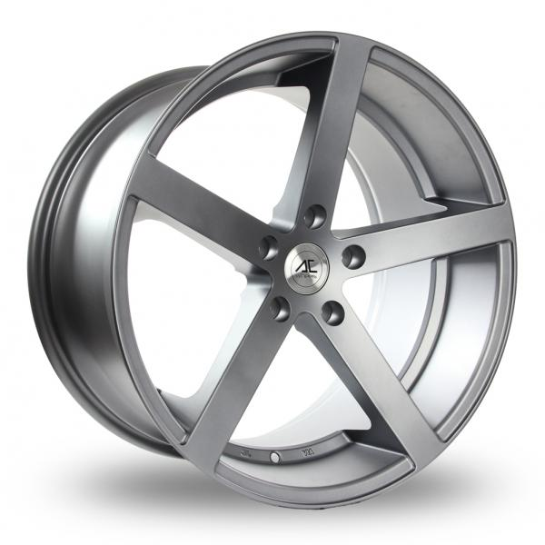 "Picture of 19"" AC Wheels Star Five Matt Grey Wider Rear"