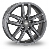 ATS Radial 5x130 Wider Rear Grey Alloy Wheels