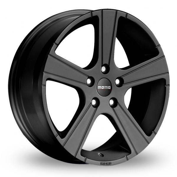 17 Inch Momo Win Pro Black Alloy Wheels