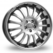 Team Dynamics Equinox II Hi Power Silver Alloy Wheels