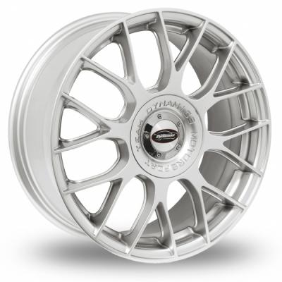 Team Dynamics Imola Hi Power Silver 18 Alloy Wheels