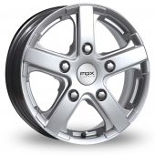 Fox Racing Viper Van Silver Alloy Wheels
