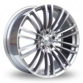 Valenza Como Hyper Silver Alloy Wheels