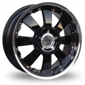 Lenso Concerto Black Alloy Wheels