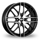 BBS CS 4 Black Polished Alloy Wheels