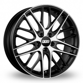 BBS CS 5 Black Polished Alloy Wheels