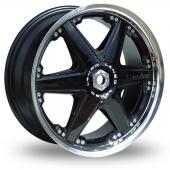 Lenso Reizen Black Polished Alloy Wheels