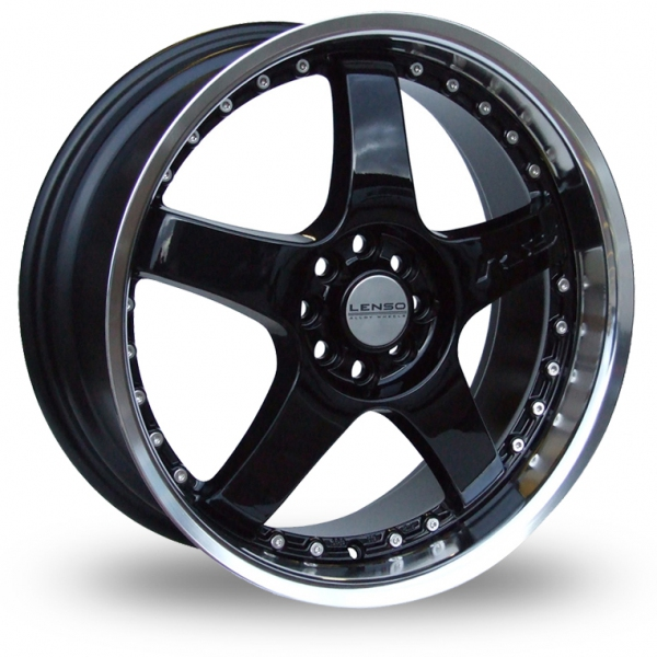 "Picture of 15"" Lenso RS5 Black"