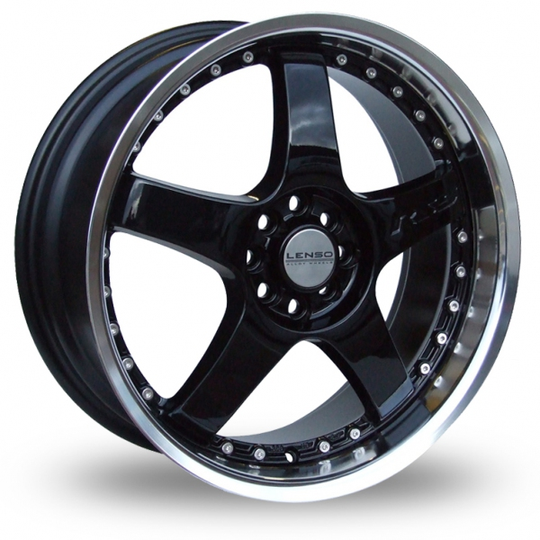 "Picture of 16"" Lenso RS5 Black"