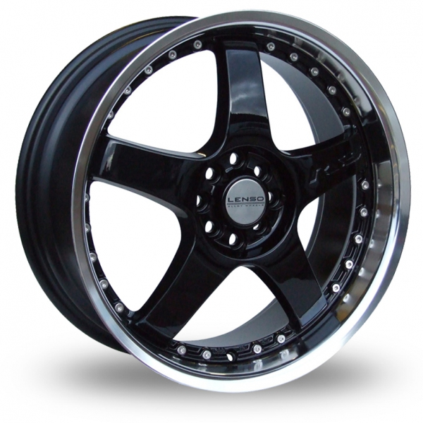 "Picture of 17"" Lenso RS5 Black"