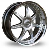 Lenso S73 Hyper Silver Alloy Wheels