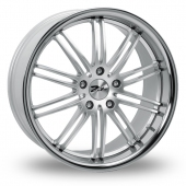 Zito Belair Hyper Silver Alloy Wheels