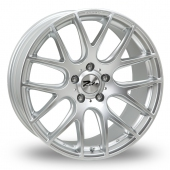 Zito ZL935 Hyper Silver Alloy Wheels