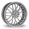 17 Inch Calibre Motion 2 Silver Alloy Wheels