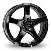 Borbet F Black Alloy Wheels