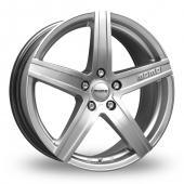 Momo Hyperstar Hyper Silver Alloy Wheels